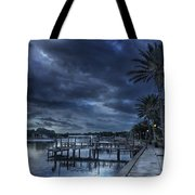 Night At The Bayou Tote Bag