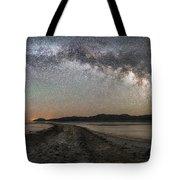Night In The Black Rock Desert Tote Bag