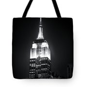 Night At The Empire State Building Tote Bag