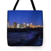 Night At The Floodwall 2 Tote Bag