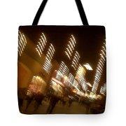 Night At The Mall Tote Bag by Ben and Raisa Gertsberg