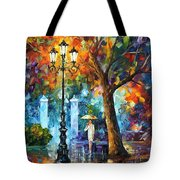 Night Aura Tote Bag