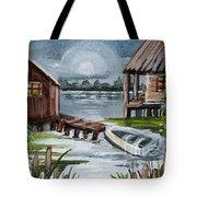 Night Bayou Tote Bag