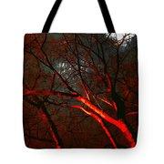 Night Blaze Tote Bag
