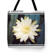 Night Bloomer Posters Tote Bag