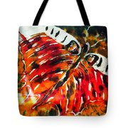 Night Butterfly Tote Bag