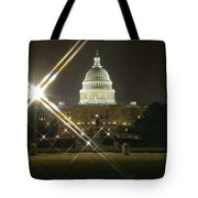 Night Capitol Tote Bag