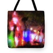 Night City Lights Tote Bag