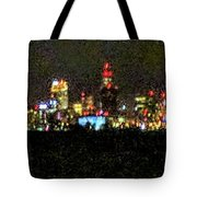 Night Cleveland Tote Bag