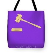 Night Court My Favorite Tv Shows Series 019 Tote Bag