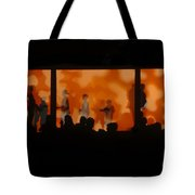 Night Dance Tote Bag