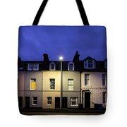 Night Darkens The Street Tote Bag