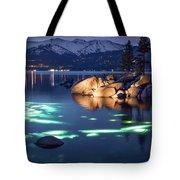 Night Dive - Lake Tahoe Tote Bag