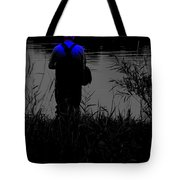 Night Fisherman Tote Bag