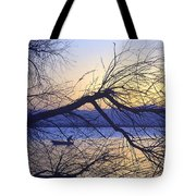 Night Fishing In Barr Lake Colorado Tote Bag