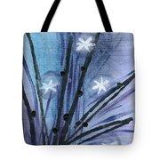 Night Flowers Tote Bag