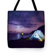 Night Gazer Tote Bag by Artistic Panda