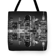Night Grooves Tote Bag