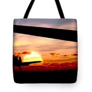 Night Hawks Tote Bag by Richard Rizzo