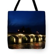 Night In Amboise Tote Bag