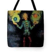Night Juggler Tote Bag