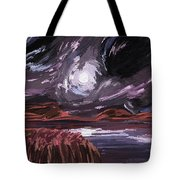 Night Land Tote Bag
