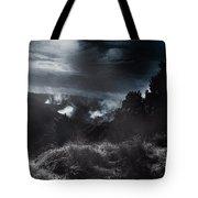Night Landscape. Australian Mountain View Tote Bag