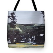 Night Landscape From Documentary Still Tote Bag