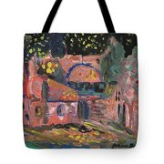 Night Landscape Tote Bag