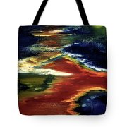 Night Lava #02 Tote Bag
