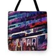 Night Lights Of London Tote Bag