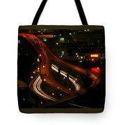 Night Lights Oregon Tote Bag