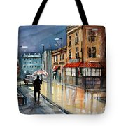 Night Lights Tote Bag by Ryan Radke