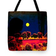 Night Loneliness Tote Bag