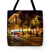 Night Moods San Jose Ca  Tote Bag