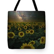 Night Of A Billion Suns Tote Bag