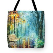 Night Of Inspiration Tote Bag