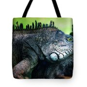 Night Of The Iguana Tote Bag