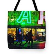 Night Park Tote Bag