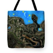 Night Petrified Tote Bag