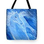 Night Pony Tote Bag
