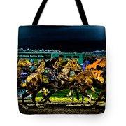 Night Racing Tote Bag