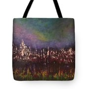 Night Reflections Tote Bag