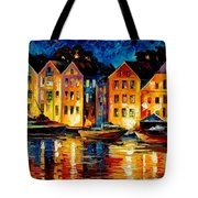 Night Resting Original Oil Painting  Tote Bag