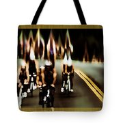 Night Rider Tote Bag