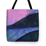 Night River Tote Bag
