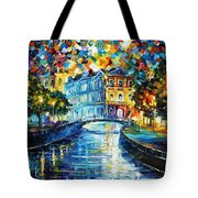 Night River Tote Bag