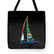 Night Sail 2 Tote Bag