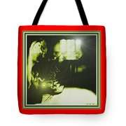 Night Search No. 14 H B With Decorative Ornate Printed Frame. Tote Bag