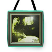 Night Search No. 14 With Decorative Ornate Printed Frame. Tote Bag